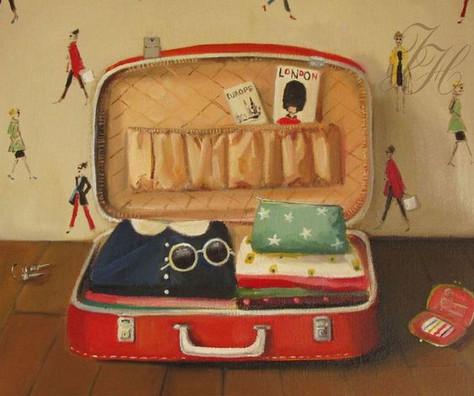 A mala ideal de viagem.
