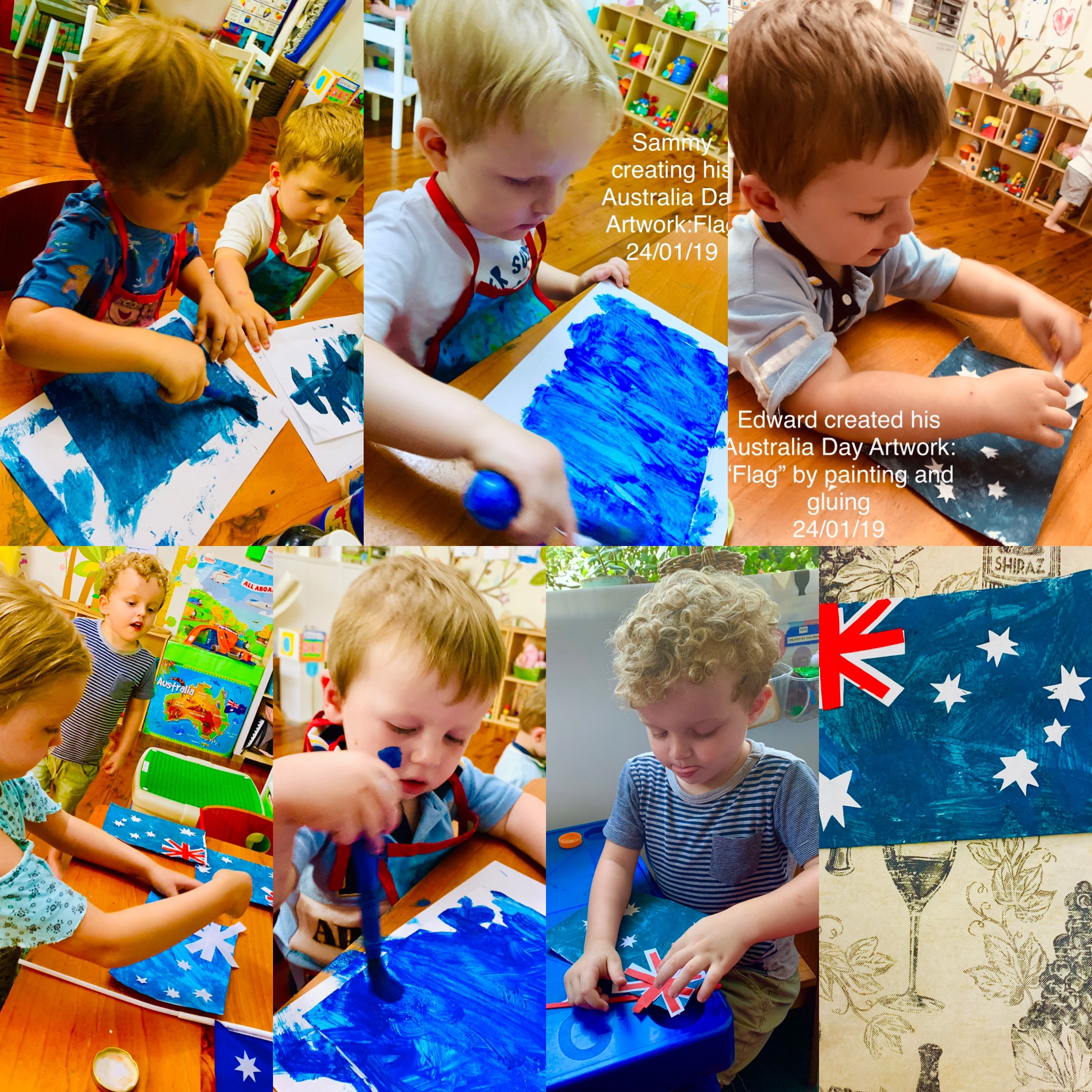 Australia Day Artwork