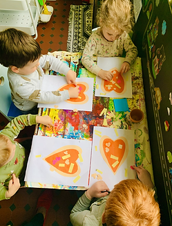 Art Lesson at Happy Kids FDC in Cammeray