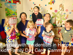 A visit by the dentists