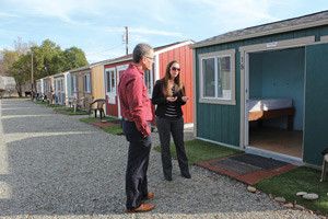 Tiny houses, big potential Support is growing for Simplicity Village in Chico, but roadblocks remain