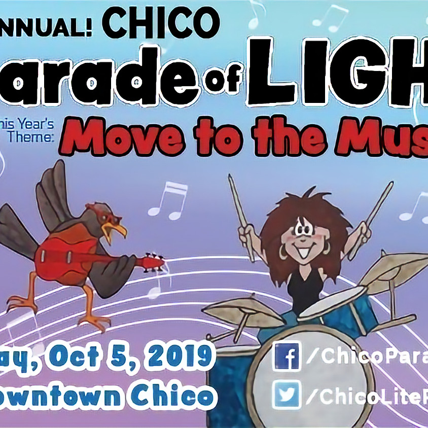 30th Annual Chico Parade of Lights
