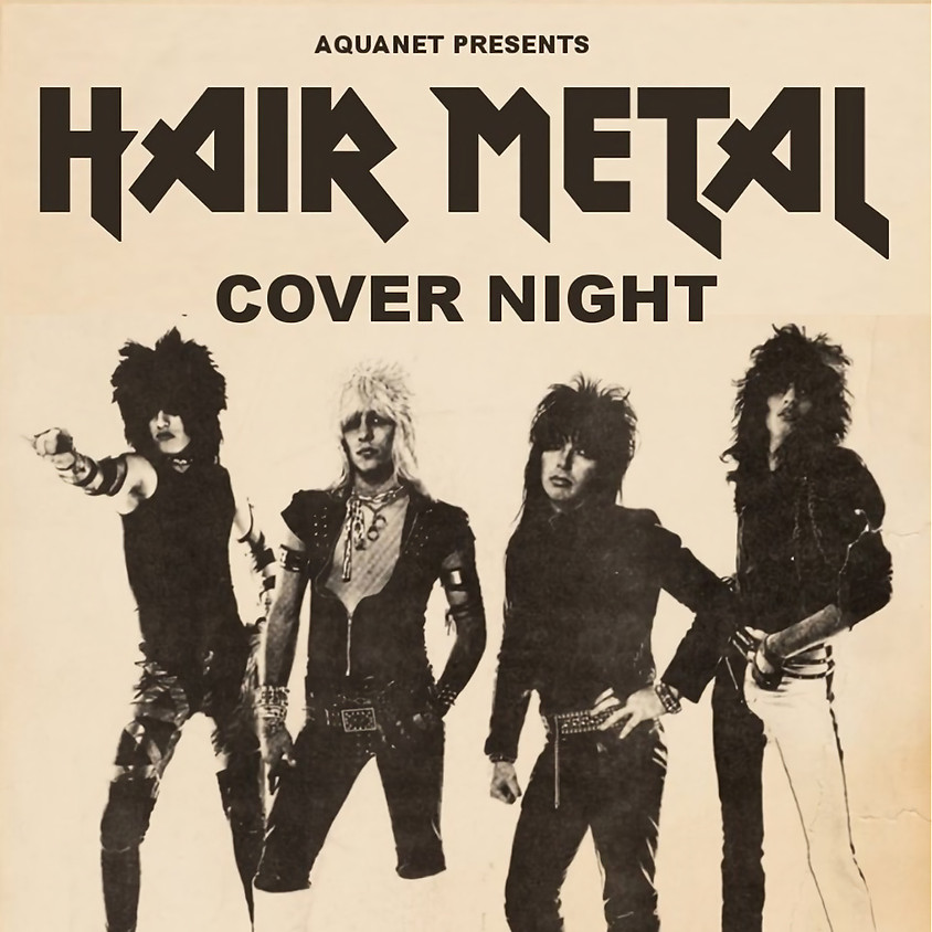 Hair Metal Cover Night Benefit for CHAT