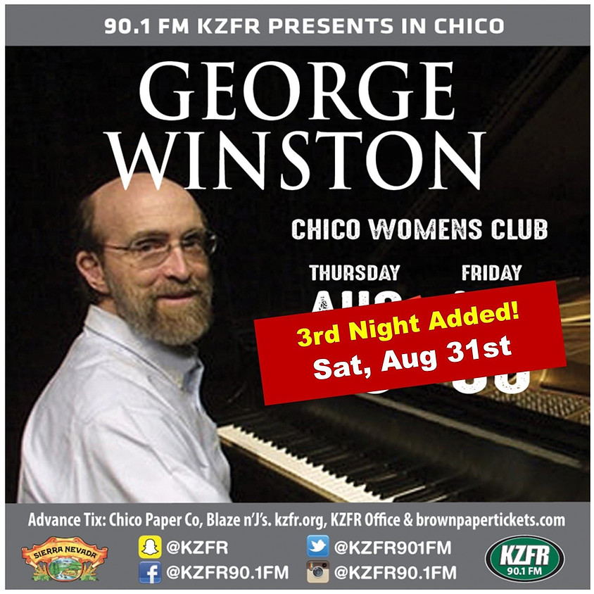 An Evening with George Winston - Benefiting CHAT