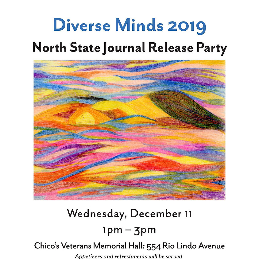 Diverse Minds: North State Journal 2019 Release Party
