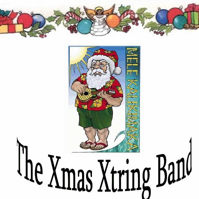 Xmas Xtrings Band Benefit for CHAT at Wine Time