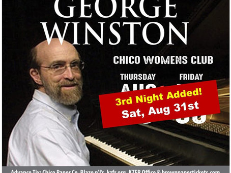 George Winston Supports CHAT!