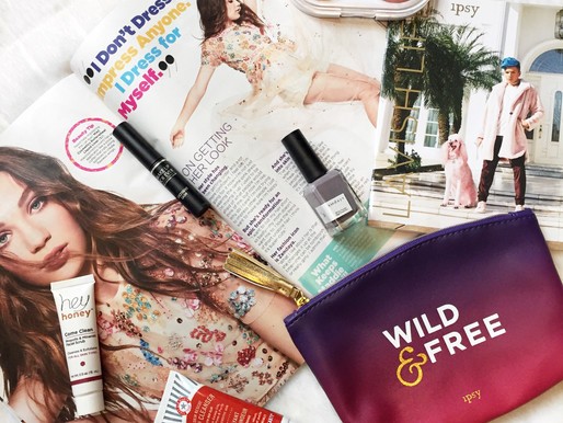 Good Vibes Only - Ipsy Glam Bag August Review