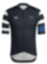 SAS Rapha Mens Black Jersey