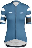 SAS Rapha Womens Blue Jersey