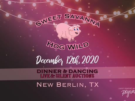 2020 Sweet Savanna Hog Wild Event