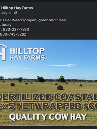 peywal for Hilltop Hay Farms