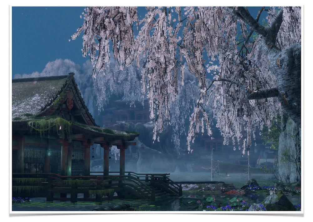 Adonis Archontides Postcards from Quarantine Mibu Manor Fountainhead Palace Sekiro Shadows Die Twice
