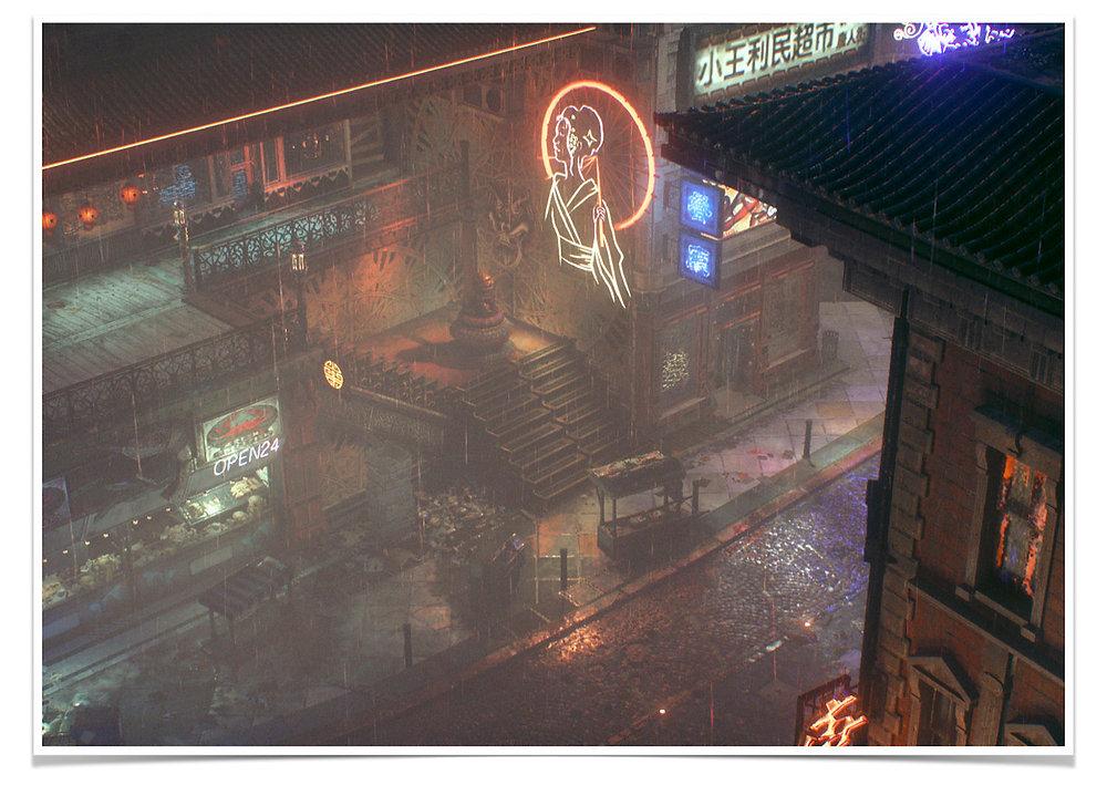 Adonis Archontides Postcards from Quarantine Chinatown Bleake Island Gotham City Batman Arkham Knight