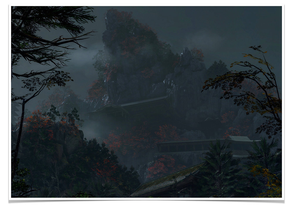 Adonis Archontides Postcards from Quarantine Senpou Temple Mt Kongo Sekiro Shadows Die Twice