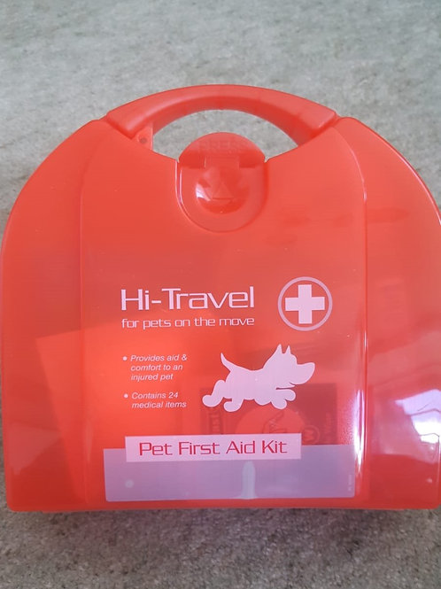 First aid kit for dogs / puppies
