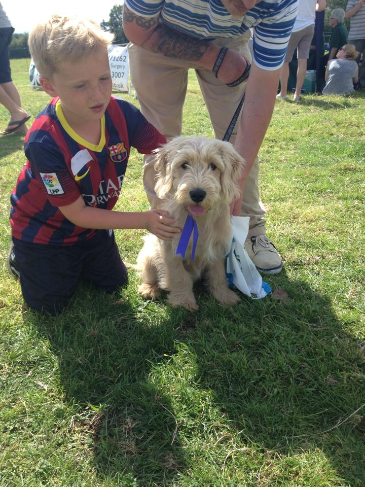 Milo and his big Bro, Alfie