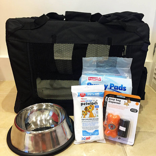 Puppy Travel Kit *Pricing Includes VAT*