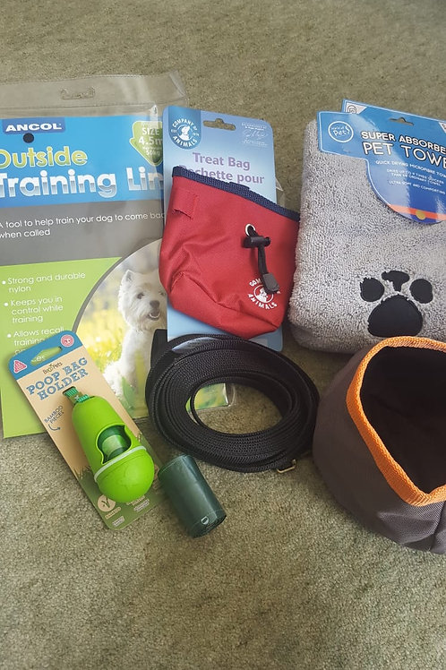 Puppy walking set - deluxe