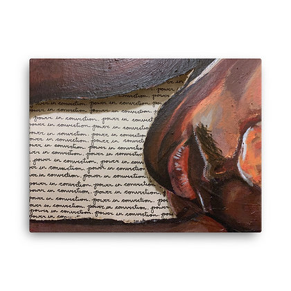 """""""Know and be Known"""" Canvas Print/ Impresión en Lienzo"""