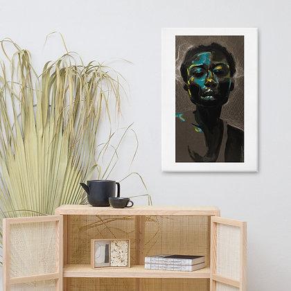"""Oluwatoyin Salau"" Original Art Canvas Print/Impresión en lienzo"