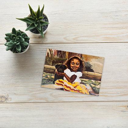 """""""La Nombraron Prieta"""" Postcard/Tarjeta Postal"""