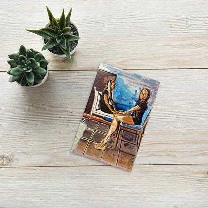 """""""Las Primas Negras"""" Postcard/Tarjeta Postal"""
