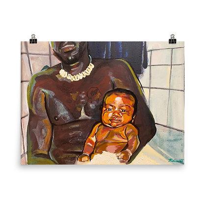 """""""You washed me and I was your son"""" Original Art Print/Impresión de Arte Original"""