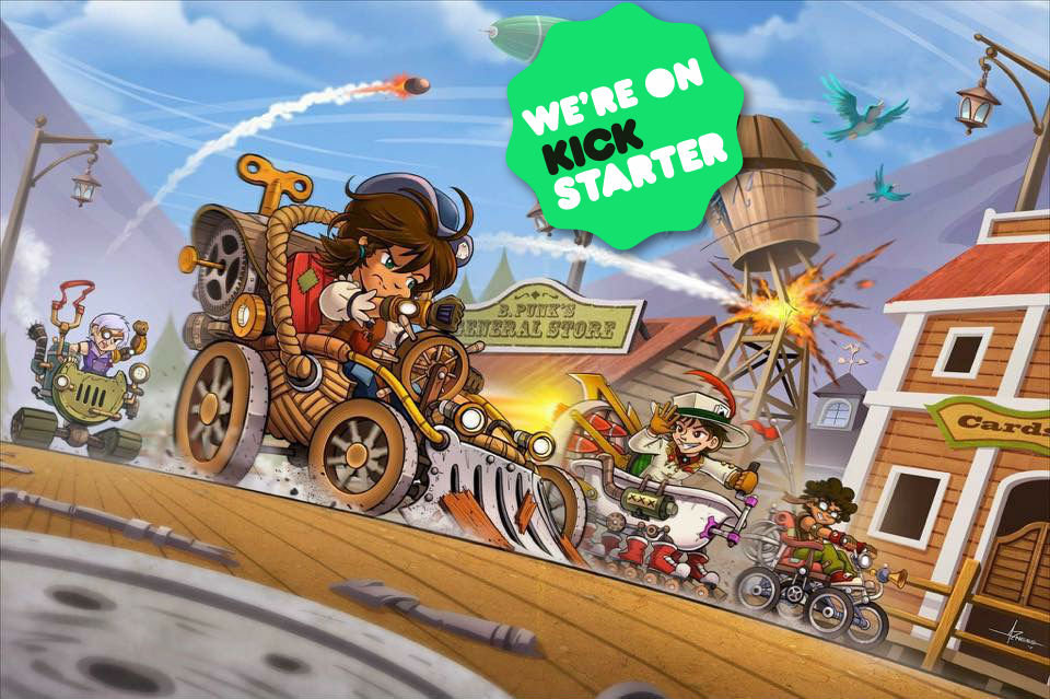 Junkyard Derby now on Kickstarter!