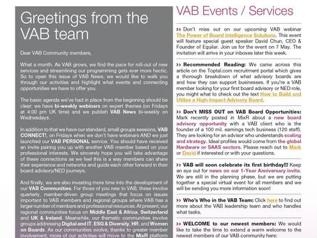 VAB News - 28/04/21