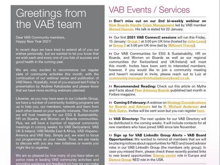 VAB News - 13/01/21
