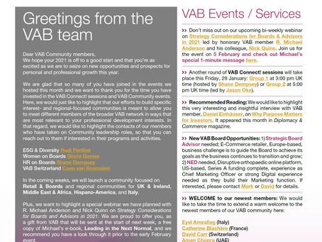 VAB News - 27/01/21