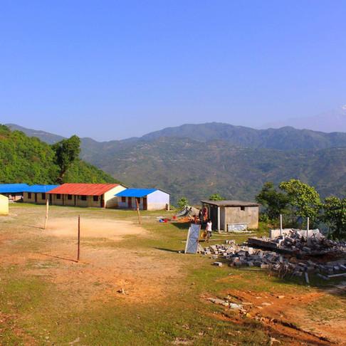 A REACH for Nepal Building site, Bhaddaure, Kaski, Nepal