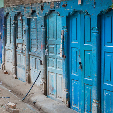 Old Town in Kathmandu
