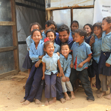 Nepal Adventures & REACH for Nepal first Community Rebuild Trip Feb 2016