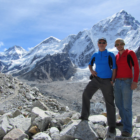 Everest Base Camp, Johnathan & Lou Nulley