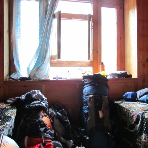 A Tea House Hotel Room, Everest Region