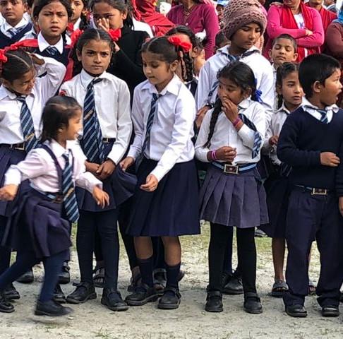 School Children, Shahid Hari Prasad School