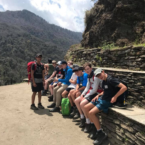 Canberra Grammar School at Poon Hill, Nepal with REACH for Nepal Foundation
