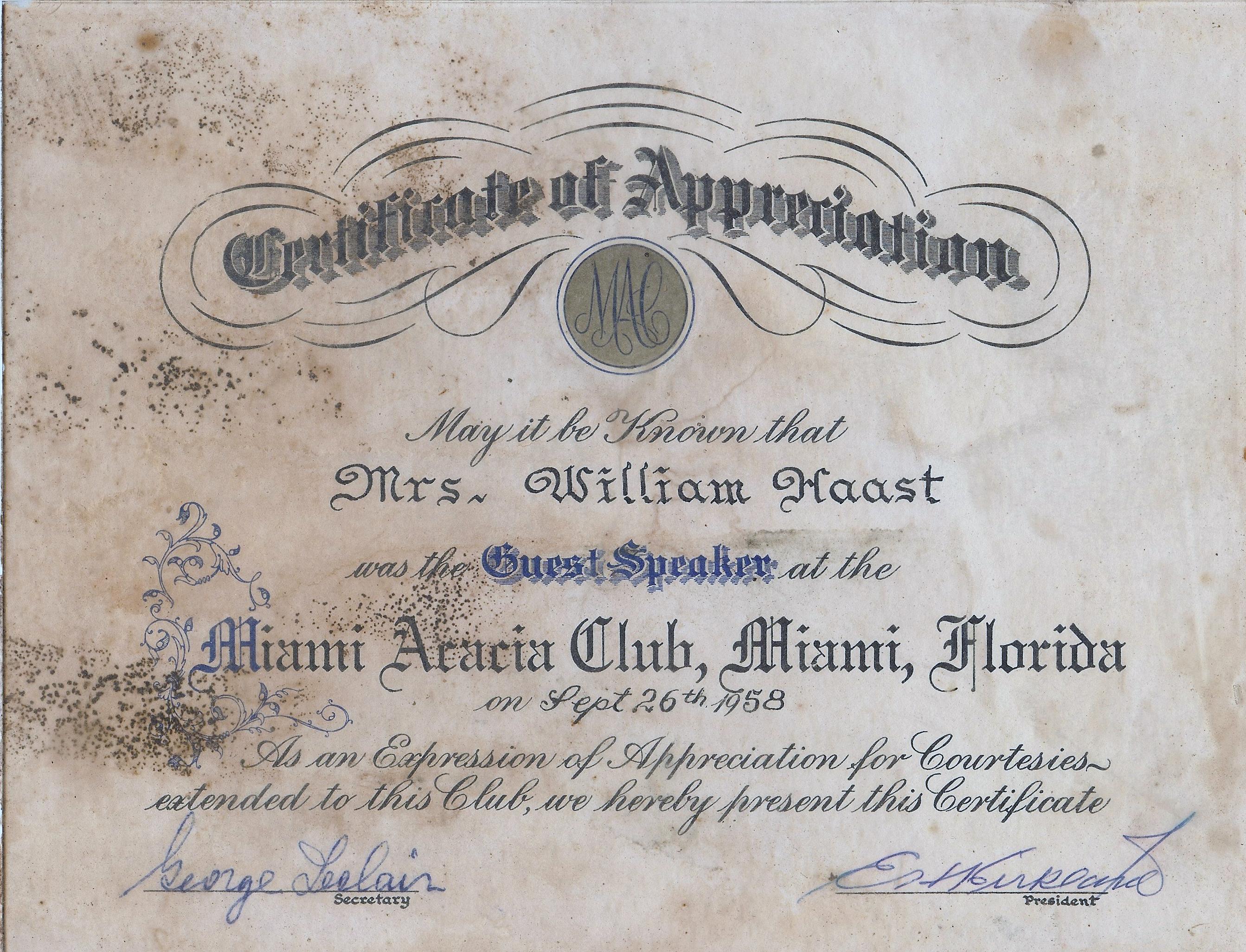 Certificate-58