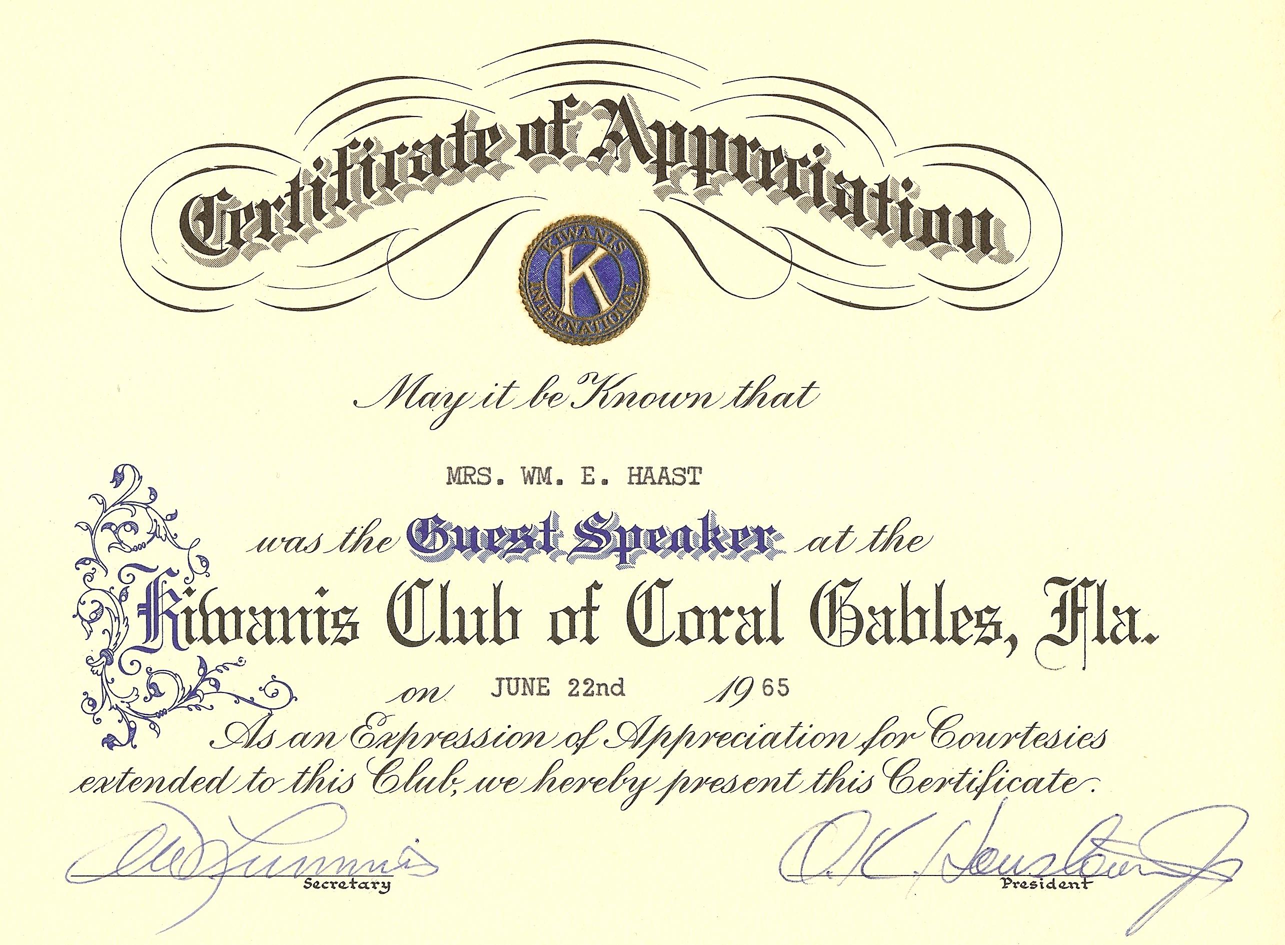 Certificate-65