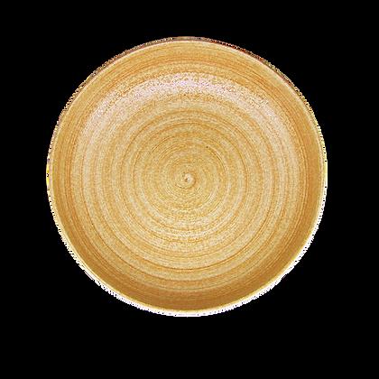 Lumosh Brown Spiral Bowl