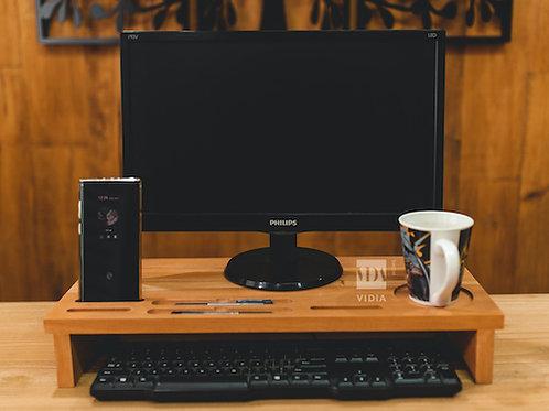 Mahogany Monitor Stand