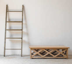 Display Ladder and Cross Coffee Table