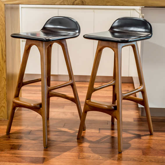 Erik Buch Replica Bar Stools