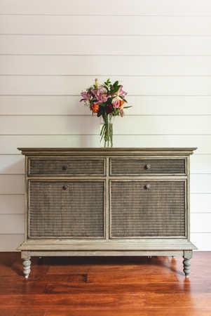 Sungkai Wood Cabinet with Loom Lloyd