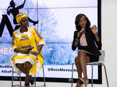 Our panelist shared their experiences within the industry, to girls and women in media.