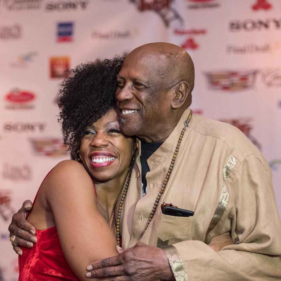 Ms. Michelle Payne & Lou Gossett Jr