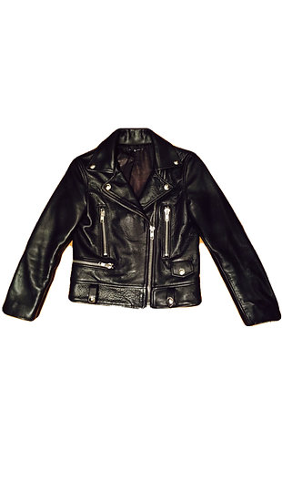 MOTOCYCLE JACKET - Cropped Sheepskin