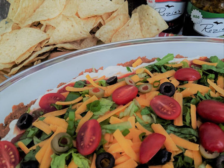 SPICY & SASSY LAYERED BEAN DIP